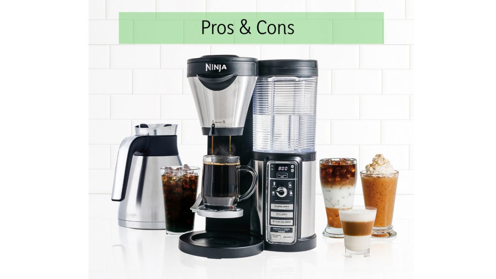 Ninja coffee bar pros cons