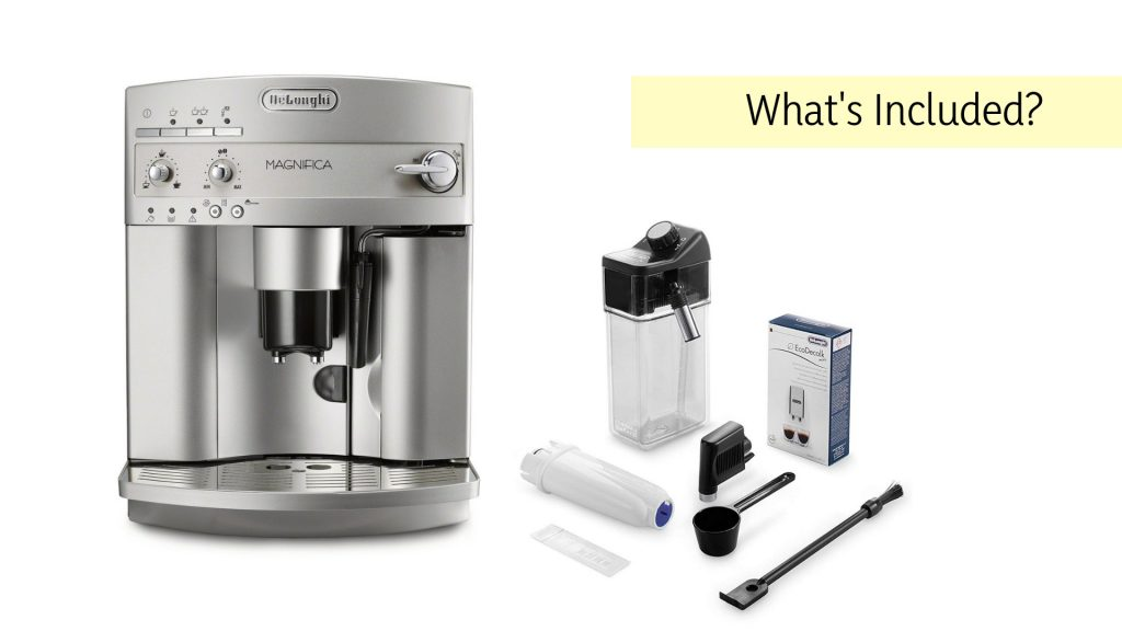 Delonghi ESAM3300 Magnifica what's included