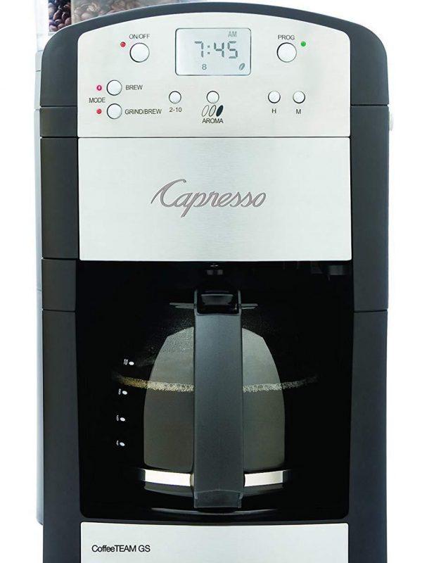 Capresso 10-Cup Digital Coffeemaker (464.05 CoffeeTeam GS)