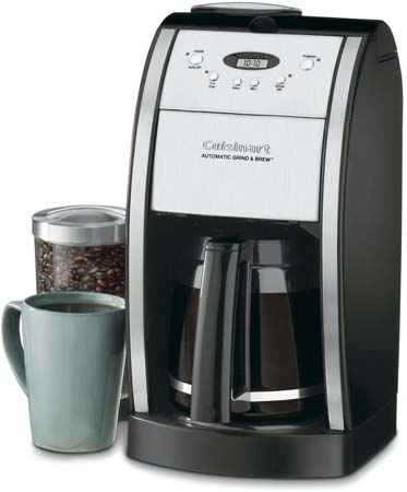 Cuisinart 12-Cup Automatic Coffeemaker Grind (DGB-550BK)