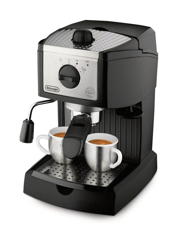 De'Longhi 15-bar Pump Espresso and Cappuccino Maker (EC155)