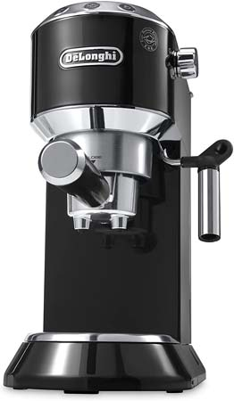 DeLonghi America Dedica 15-Bar Pump Espresso Machine (EC680B)