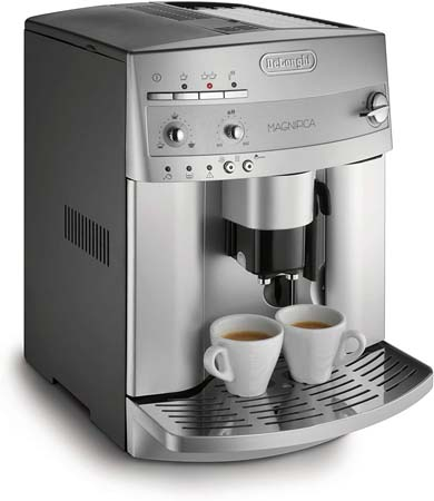 DeLonghi Magnifica Super-Automatic Espresso/Coffee Machine (ESAM3300)