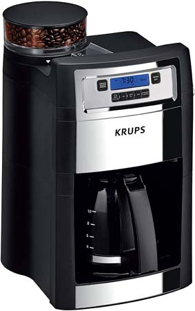 KRUPS Grind & Brew Automatic Coffee Maker (KM785D50)