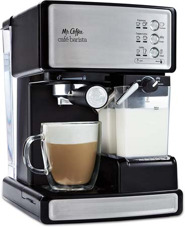 Mr. Coffee Café Barista Espresso and Cappuccino Maker (ECMP1000)
