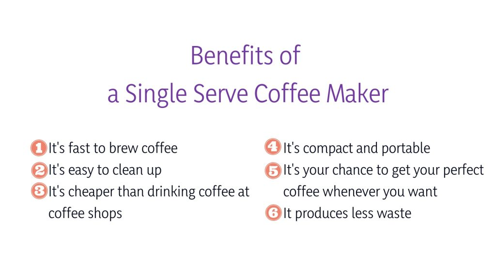 benefits of coffee machines