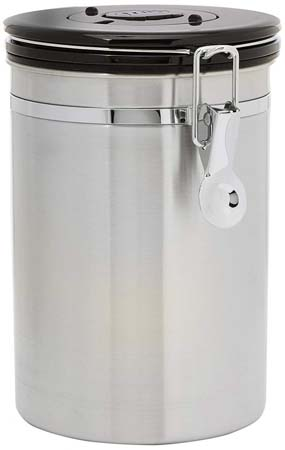 Friis Stainless Steel Coffee Vault Canister