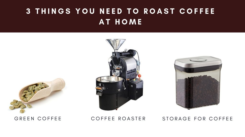3 things you need to roast coffee at home