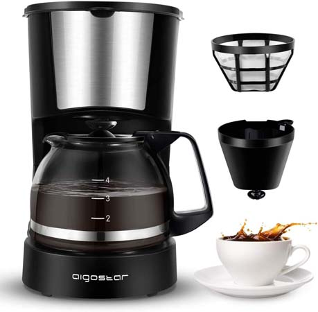 Aigostar 4-Cup Coffee Maker