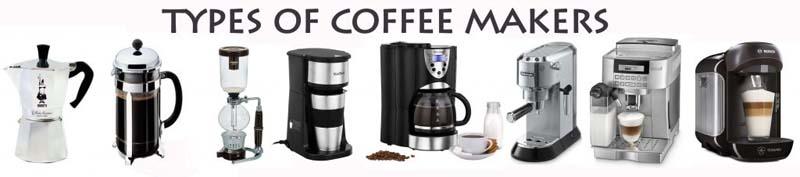 Coffee Maker Types