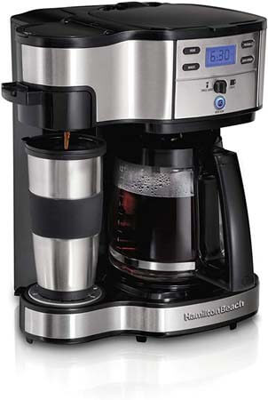 Hamilton Beach 2-Way Coffee Maker 49980A