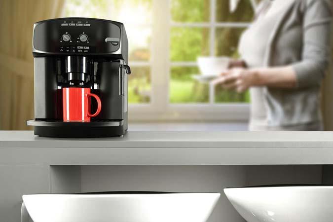 Single-serve capsule coffee machine