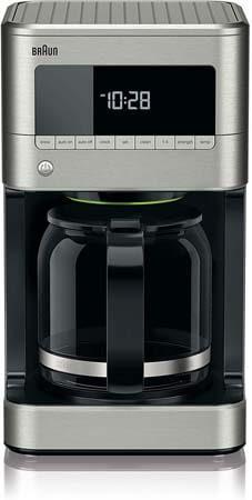 Braun KF7150BK BrewSense Drip Coffeemaker